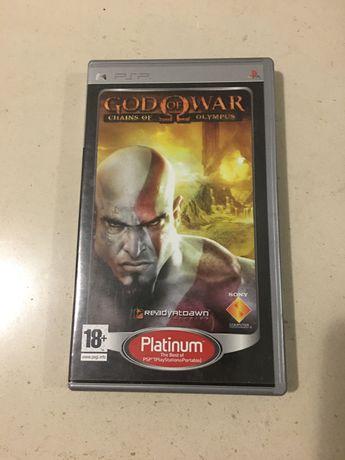 Jogo PSP God of War- Chains of Olympus