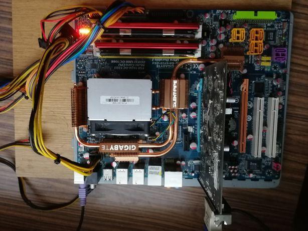 Płyta główna Gigabyte EP35-DS4 +RAM