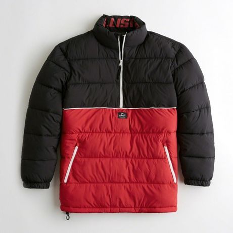 Kurtka Half-Zip Puffer Jacket Hollister M