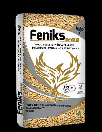 Pellet Feniks Gold, pelet certyfikowany, klasa A1