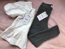 Komplet koszula i spodnie ZARA