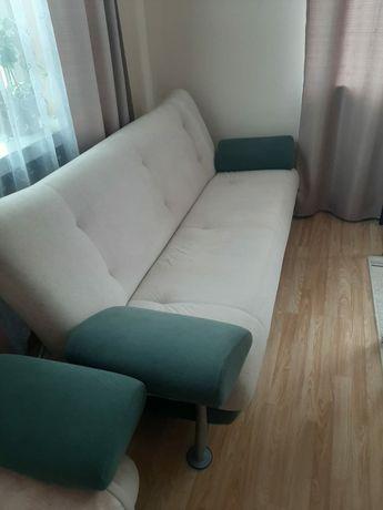 Wypoczynek kanapa plus dwa fotele