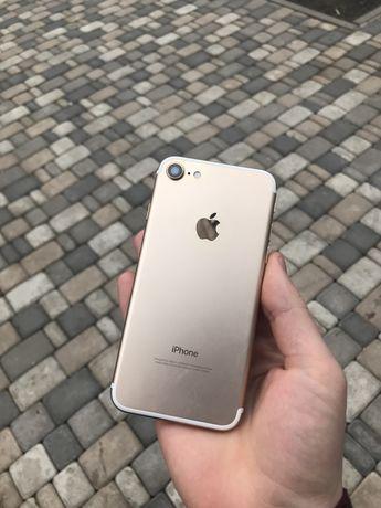 Оригинал !!! Apple iPhone 7 32/128GB Gold комплект/бу/айфон/золотой