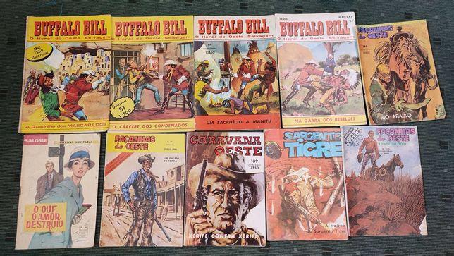 Lote 37 livros BD antigos