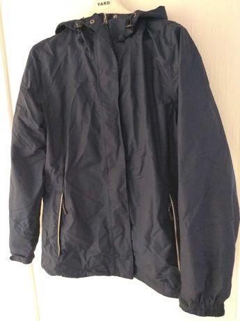 Wiatrówka kurtka przeciwdeszczowa trekkingowa granatowa 44 damska