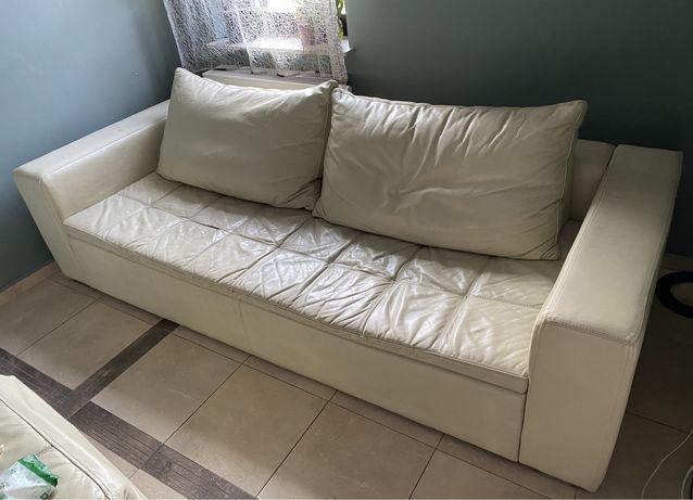 Skórzana kanapa 3-osobowa