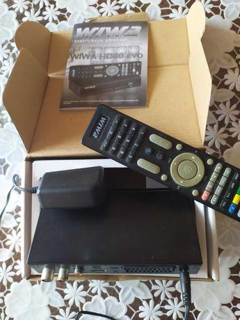 Dekoder telewizji naziemnej DVB-T sprawny