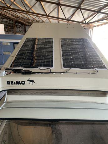 Solar panel do przyczepy lub kampera z montażem Fotowoltaika 265W moc