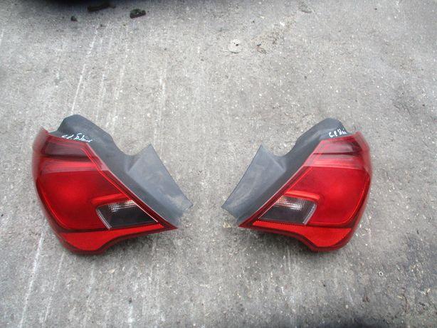 Opel Corsa E lampa lampy tył tylne lewa prawa Komplet 5-cio drziowa 5D