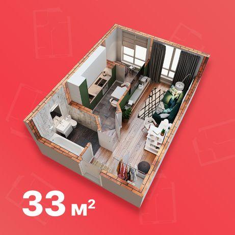 1- кімнатна квартира ЖК Благород, Крюківщина