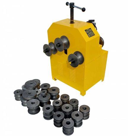 Трубогиб электрический HHW-76В с полным комплектом роликов