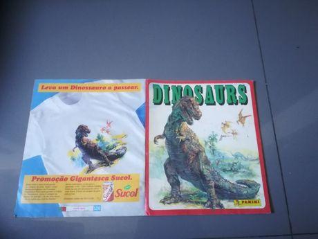 Caderneta Dinosaurs