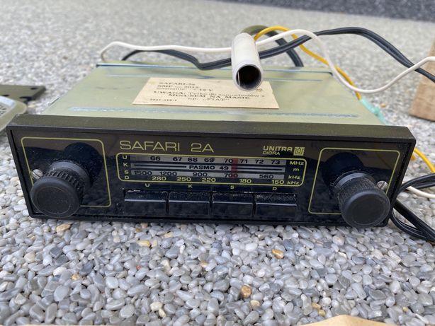 Gratka kolekcjonerska Radio SAFARI 2a nigdy nie montowane.