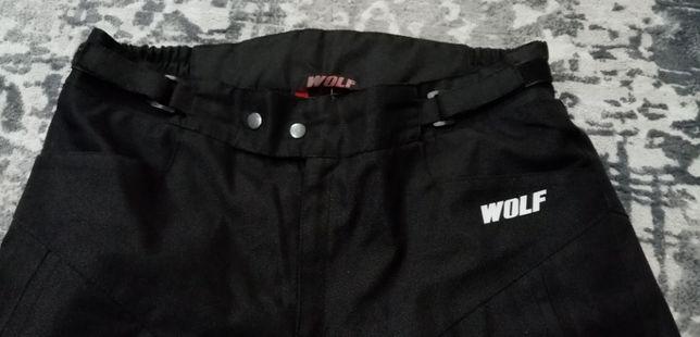 Spodnie motocyklowe WOLF L Ocieplane