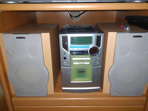 Wieża Philipsa na cd i kasety