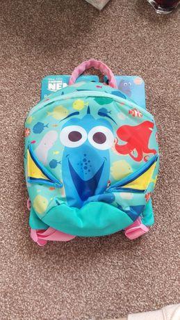 Plecak ze smyczą szelki zabezpieczajace do nauki chodzenia Disney Dora
