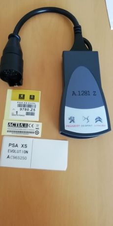 Máq. Diagnostico Auto Grupo PSA Lexia 3 PP2000 DIAGBOX 9.68
