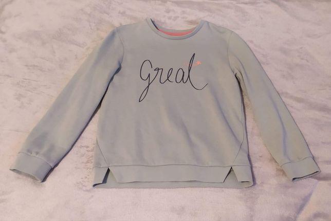 Cieplutka bluza dla dziewczynki 140 cm 8-10 lat