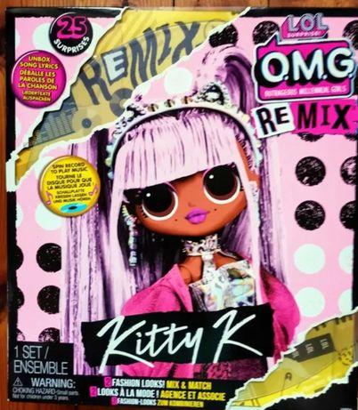 Muzyczna lalka wys.23 cm R&B LOL OMG Remix MGA Kitty K płyta winylowa