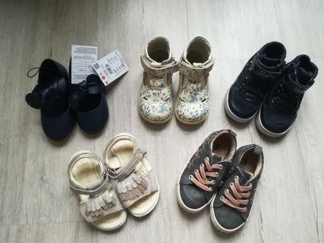 Buty dla dziewczynki 22/23 skórzane kavat zara geox