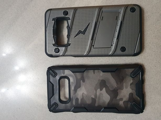 Etui pancerne Samsung Galaxy s10e Zizo Bolt Cover i Kingke FusionX
