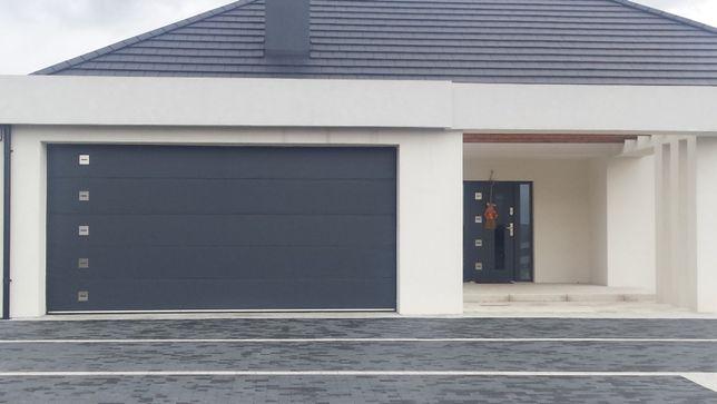 Producent Brama garażowa segmentowa Bramy garażowe przemysłowe 2,93*2