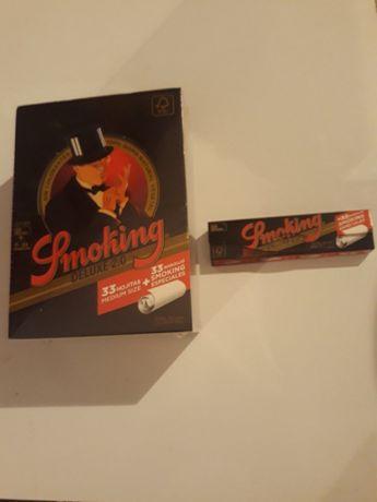 Caixa de mortalhas Smoking king size com filtros
