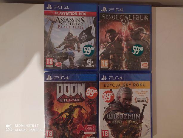 PS4 nowe gry zafoliowane