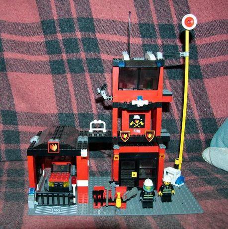 Лего lego 7240 Fire Station (Штаб пожарной команды)