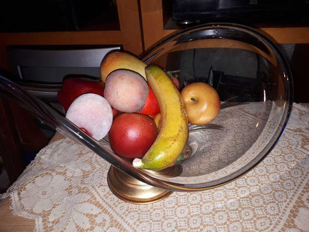 Taça fruteira em vidro