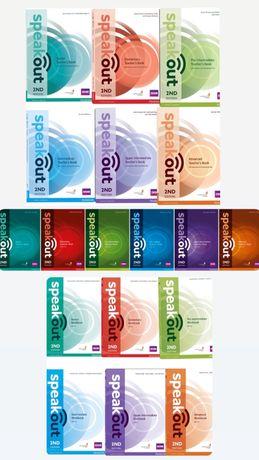 Speakout електронні книги всіх рівнів+відповіді+аудіо