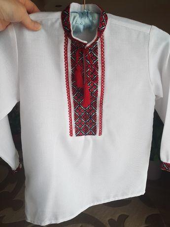 Вишиванка, вышиванка, вышитая рубашка, вишита сорочка, рост 98-110