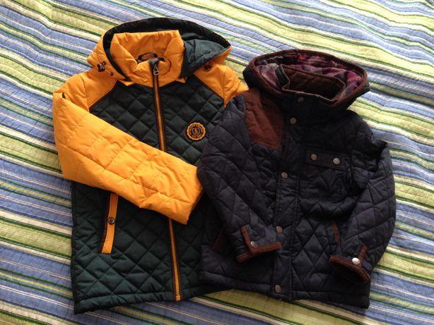 Демисезонная куртка для мальчика Zara 110, Lebo 128