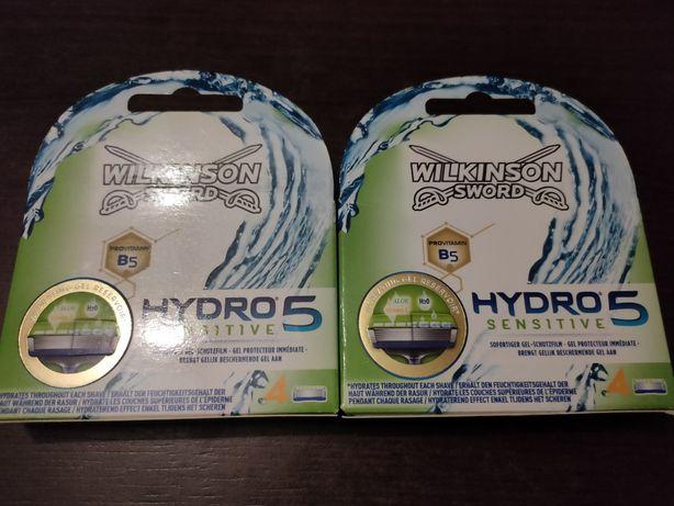 WILKINSON HYDRO 5 sensitive 8 szt 2 opakowania DE