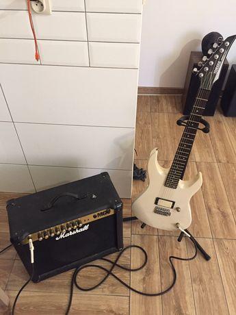 Gitara elektryczna yamaha rgx110 piecyk marshall