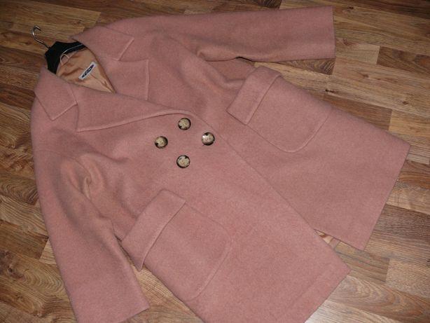 Modny płaszcz wełniany rozm. 44-48
