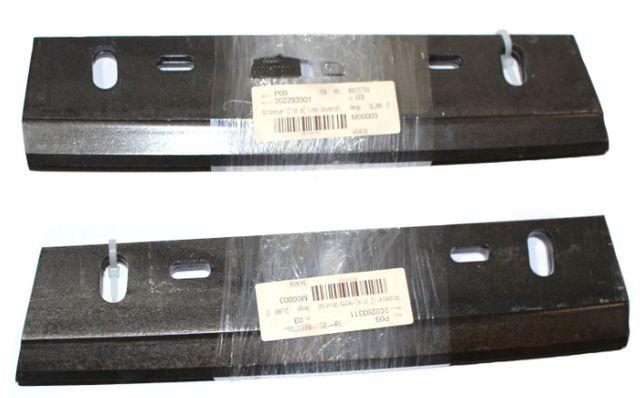 Nóż sieczkarni lewy para standard BigX 20- 22- 93- 30 -1