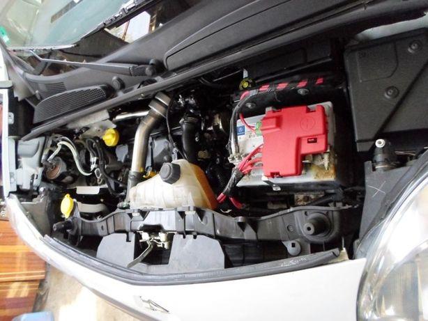 Двигун 1.5dci 50, 63 kW Renault Kangoo Рено Кенго форсунка турбина