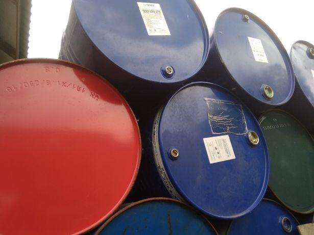 Beczki stalowe po oleju