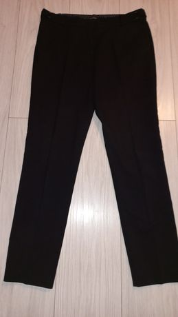 Czarne eleganckie spodnie orsay 40