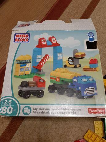 Конструктор Mega Bloks My tracks, 80 деталей /Lego duplo