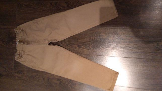 Reserved spodnie miodowe 122