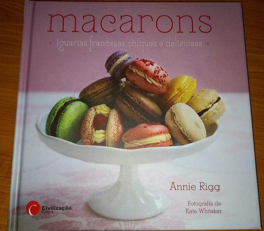 Livro sobre macarons