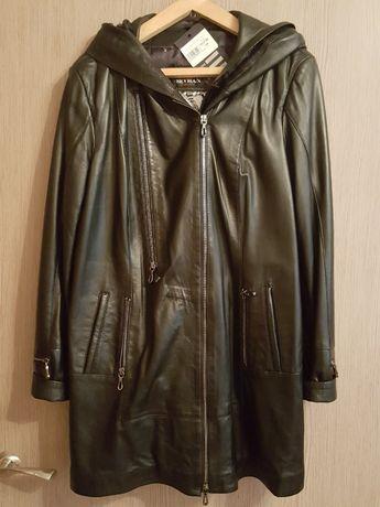 Новая куртка vica pota натуральная кожа 52-54