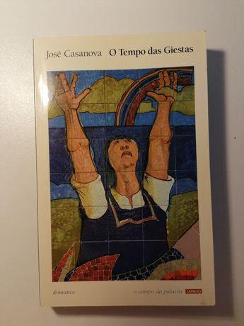 "Livro ""  O Tempo das Giestas"" de José Casanova"
