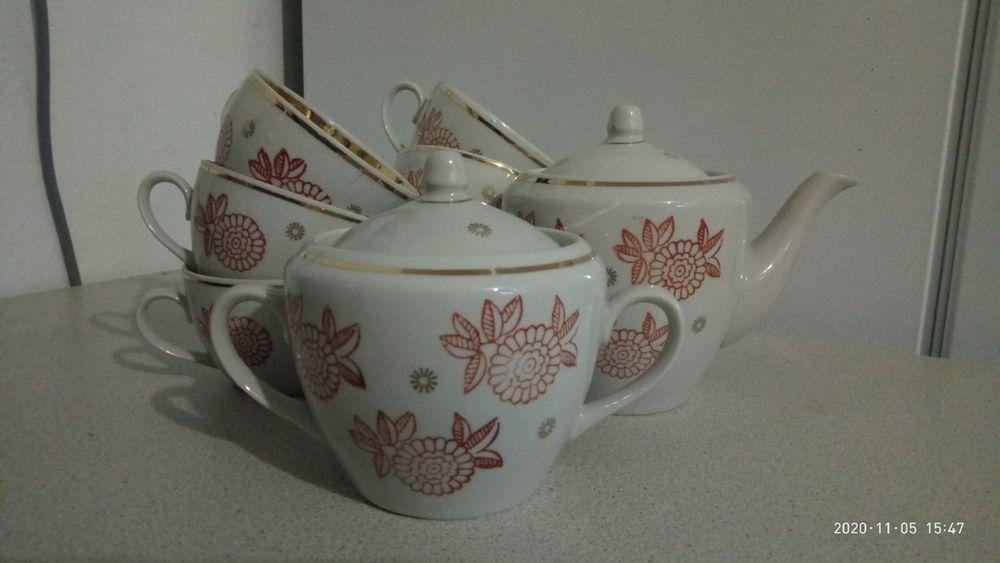 Чайны сервиз. Весеннее - изображение 1
