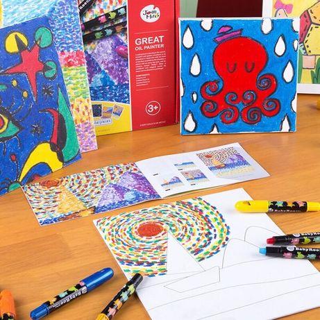 Художественный набор с пастельными карандашами, Jar Melo