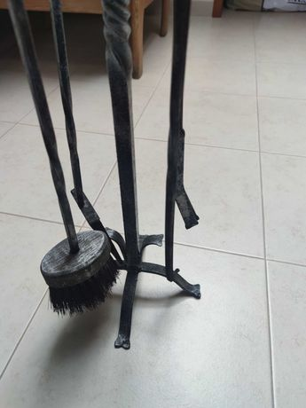 Utensílios de limpeza de lareira