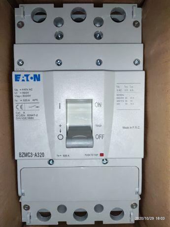 Автоматический выключатель BZMC3-A320, Iн = 320 Ампер, 380В, 3 полюса,