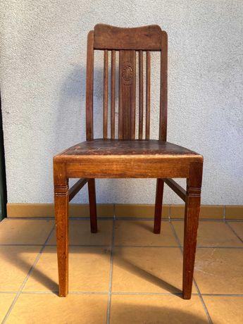 Krzesło lity dąb
